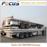 OEM ODM 40feet Oplegger van het Platform van de Chassis van de Container Flatbed