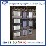 QUENTE: Caixa leve de fabricação do diodo emissor de luz do acrílico transparente lateral dobro