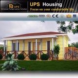 Cabine pré-fabricada verde residencial permanente da casa para o Au