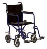 알루미늄 휠체어 전송 휠체어 (Hz122-07-12)