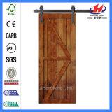 Дверь амбара алюминиевого оборудования деревянная сползая (JHK-SK09)