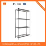 Epoxy Coating Black Metal Wire Shelving and Racking
