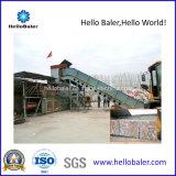 20-25 Tonnen-hohe Kapazitäts-horizontale automatische Ballenpresse für Abfallwirtschaft