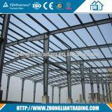 Taller galvanizado caliente prefabricado/almacén de las estructuras de acero