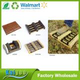 屋内/屋外ハードウェアが付いている木のブートのブラシ及び靴のブラシ