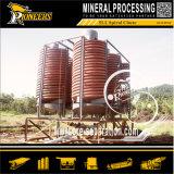Pequeña lavadora del oro del canal inclinado espiral del mini de la gravedad separador del oro