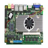 Mini Dubbele LAN Industriële Motherboard met Core3 Aan boord cpu, aan boord van 4GB /Onboard SIM de Raad van de Groef voor POS