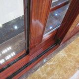 Puerta de pantalla de desplazamiento de aluminio de cristal Inferior-e del balcón moderno