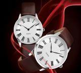 시계 제조 석영 가죽끈 한 쌍 시계