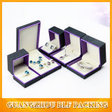 Boîte-cadeau en bois de estampage chaude de bijou blanc (BLF-GB049)