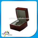 Boîte-cadeau en bois en bois de cadre de montre de qualité de luxe