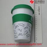 Kop van de Koffie van de Isolatie van de Hitte van de Dekking van de Kop van pp de Plastic
