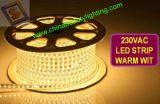 SMD5050 décoratifs imperméabilisent la lumière de bande de RVB DEL