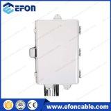 Rectángulo terminal óptico al aire libre de fibra del divisor del PLC de FTTH 32port 1*16/1*32