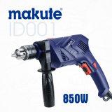Makute Impacto Taladro nuevo diseño de la máquina de 13 mm 850W de siembra (ID001)