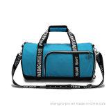 Sac extérieur bleu de sport de sac avec deux traitements