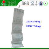 A argila dessecante do saco 80% do bom recipiente da adsorção adiciona a carga de transporte do Cacl2 de 20%