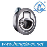 Yh9540 Zinc Alloy Electrical Round Boat Turn Lock com chave