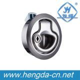 Serratura rotonda elettrica in lega di zinco di girata della barca Yh9540 con il tasto
