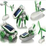 Le robot solaire solaire de nécessaire du jouet in-1 du pouvoir 6 de Hotsale badine le jouet 058-7 de cadeau