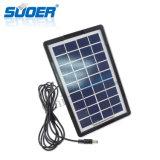 Nuevo sistema de Lightng del hogar de la fuente de la energía solar del diseño de Suoer 2016 (658)