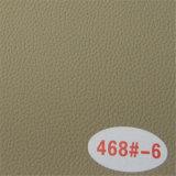 Fornecer couro de mobiliário sintético de PVC resistente a abrasão de alta qualidade