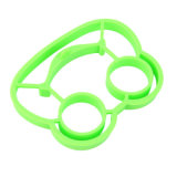 La cuisson de la grenouille créatrice d'outil a formé le moulage frit par silicones de catégorie alimentaire d'oeufs