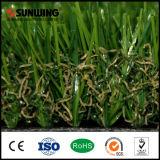 Venta artificial de la alfombra de la hierba del jardín Anti-ULTRAVIOLETA del césped que pone