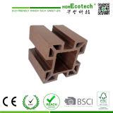 Poste plástico de madera barato respetuoso del medio ambiente Anti-ULTRAVIOLETA de la cerca de /WPC del poste de la pérgola