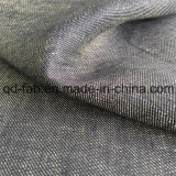 Tela de lino teñida hilado de la tela cruzada (QF16-2472)