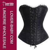 Biancheria sexy del corsetto del merletto e Bustiers (L42656-5)
