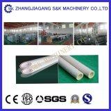 Ligne en plastique à grande vitesse d'extrusion de Double-Brin de pipe