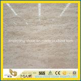 Естественный Roman Beige Travertine для Резать-к-Size Slab или Floor Tile