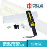 Détecteurs de métaux portatifs tenus dans la main rechargeables avec l'éclairage LED d'Élevé-Éclat