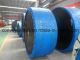 Correa de goma Wear-Resistant en transportador de la trituradora