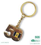 Metallo all'ingrosso Keychain della lettera della Cina con l'anello portachiavi (KCS-240)