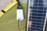 Миниые солнечные приведенные в действие располагаться лагерем и осветительная установка