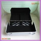 Silberne gestreifte ABS Oberflächen-beweglicher Verfassungs-Eitelkeits-Aluminiumfall (SACMC028)