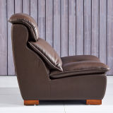 Cuero de masaje sofá de la sala (908)