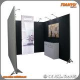 Alluminio portatile con la parete della parte posteriore della cabina di Exhitition del blocco per grafici della tessile