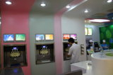 Tipo máquina da tabela do gelado de iogurte congelado para a loja commerical com certificado do CE