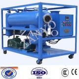 Double machine de purification de pétrole de transformateur de vide d'étapes