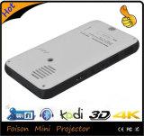 Projecteur portatif de DLP de mini projecteur intelligent de WiFi de l'androïde 4.4 HD DEL, 854*480dpi 1000 lumens