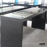 Tabela feita sob encomenda do contador da barra, tabela longa de pedra artificial do banco