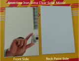 2mm a 6mm Thickness Italia Fenzi Paint Silver Mirror