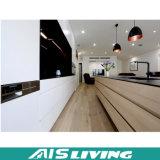 Mobília dos gabinetes de cozinha de Playwood da melamina da cor do dobro da fábrica de Foshan (AIS-K948)