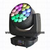 LED 이동하는 맨 위 광속 18X15W RGBW 4in1