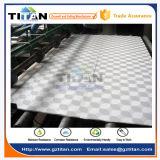 Prix de panneau de plafond de gypse de PVC de prix bas de conception moderne