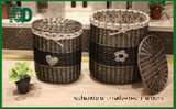 Storage real Wicker Basket, Good para Totel y Home.