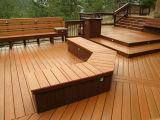 Pavimentazione composita di plastica di legno di Decking impermeabile caldo di vendita WPC